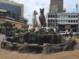 Monument to cats