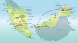 Sarawak to Sabah