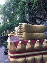 Reclining Buddha on Mt. Phousi