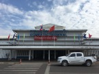 Busy Vientiane airport