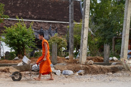 A working monk