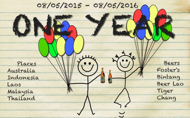 ONE YEAR DOODLE