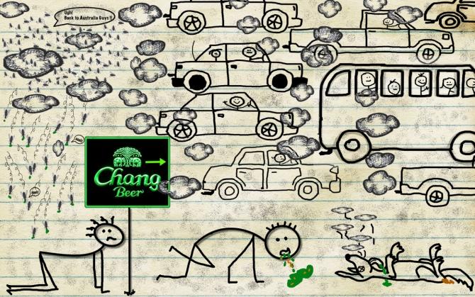 bangkok-doodle