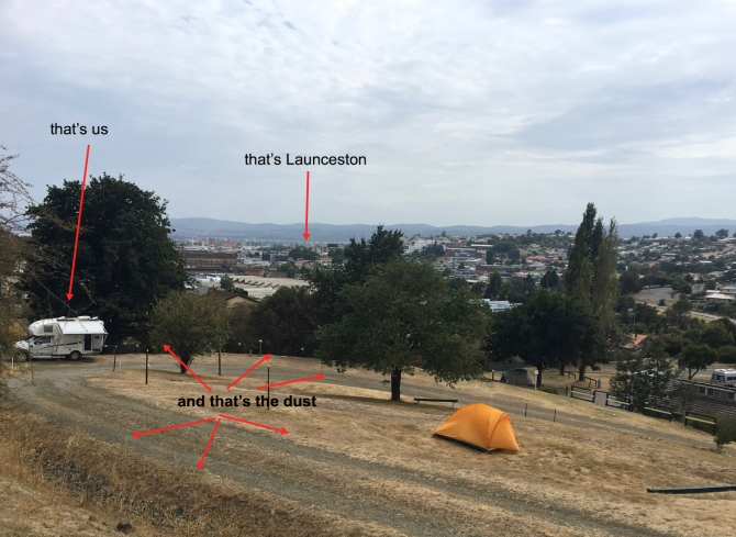 camping in Launceston