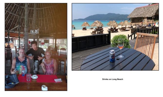 drinks on long beach